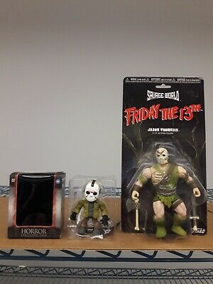 Jason Voorhees Lot The Loyal Subjects Funko Savage World Friday the 13