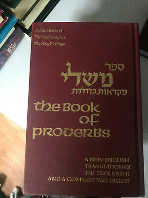 PROVERBS TO LIVE By, Mishlei, English Modern Translation, Rabbi
