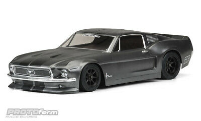 PROTOform 1968 Ford Mustang Clear Body VTA Class 1558-40 Karosserie