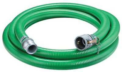 "CONTINENTAL CONTITECH 4YLN2 1-1/2"" ID x 20 ft PVC Discharge & Suction Hose GN"
