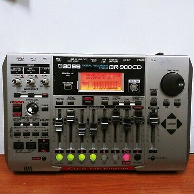 Boss BR-900CD Digital Recording Studio CD-R/RW For parts or not working untested