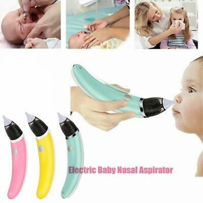 Electric Nasal Aspirator Nose Cleaner Safe Hygienic Snot Sucker For Newborn Baby