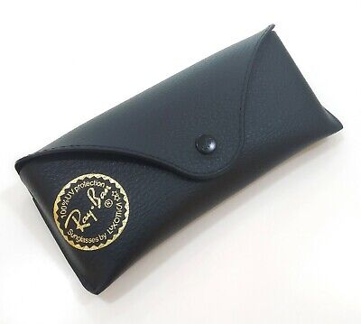 RAY BAN CUSTODIA GLASSES CASE FODERO sunglasses BAG ASTUCCIO BOX black aviator