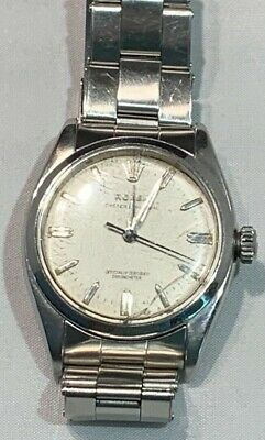 29acfd15bc0 Vintage Mens Rolex Oyster Perpetual Steel Strong Running Watch 6580 WOW!