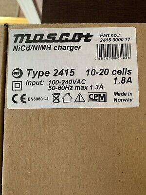 MASCOT - BATTERY CHARGER, NiCd/NIMH 10-20 CELLS 1.8A New