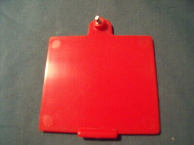 American Red Cross AED Defibrillator Trainer Training Battery Cover! E4