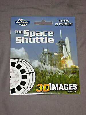 3D Viewmaster View-Master Space Shuttle NEW unopened 3 reel pack