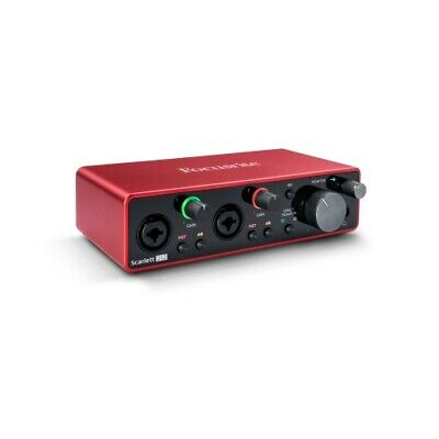 Focusrite Scarlett 2i2 2x2 USB Audio Interface 3rd Gen for Singer/Songwriters
