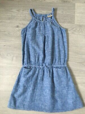 Girls Next Demin Style Party Dress Age 9 Elasticated waist with 2 pockets