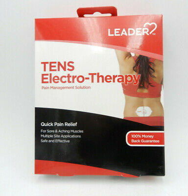 LEADER TENS Electro-Therapy Kit 096295130379WS