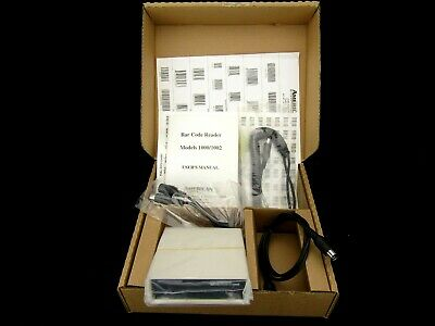 1 USED AMERICAN MICROSYSTEMS MODEL 2500 BAR CODE MAGNETIC STRIPE READER