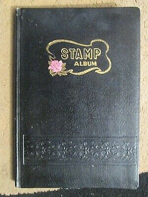 14,x.side medium Stockbook  with over  500.x.unsorted Commonwealth stamps