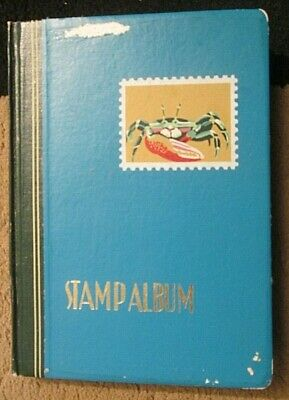 14,x.side small Stockbook  with mostly BERMUDA + a few other  C/wealth stamps