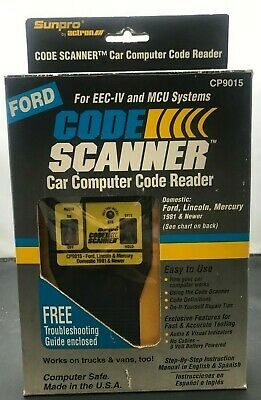 FORD EEC IV System Electronic Control Assembly Breakout Box - $99 95