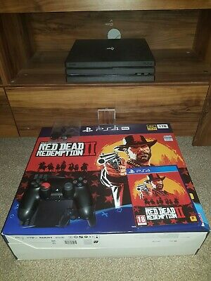 Sony PlayStation 4 Pro 1TB Black Console with  Red Dead Redemption 2