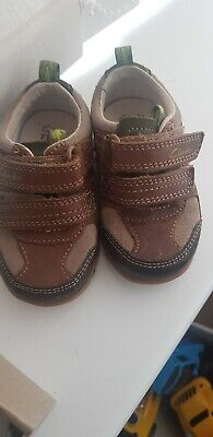 f667e126 BABY BOYS CLARKS First Shoes Uk Size 5G Infant - £1.30 | PicClick UK