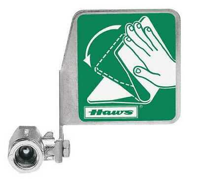 HAWS SP229 Ball Valve 1/2 In,Chrome-Plated Brass