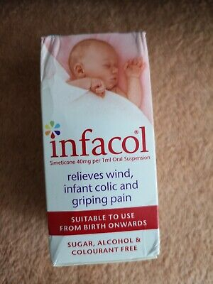 Infacol Colic Wind Relief Drops 50ml relieves wind infant colic and griping pain