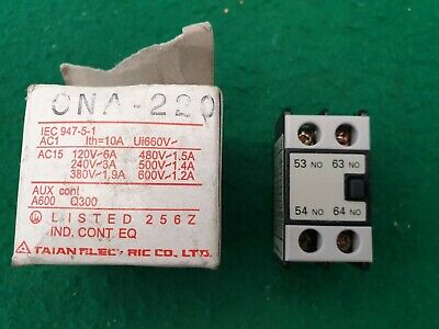Taian CNA-220 Auxilary Contact Block Front Mounted