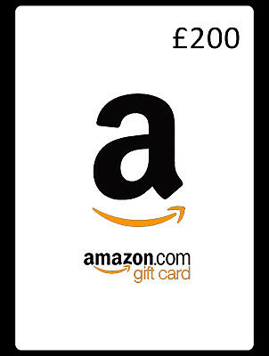 !!LIMITED TIME LISTING £200 Amazon Gift Card Voucher Genuine Bulk Orders