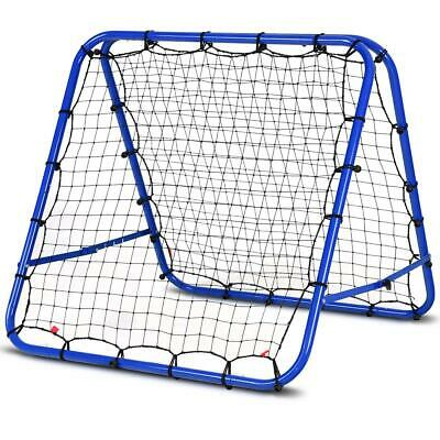 Kickback Volley Training Rebounder Football Soccer Practice Bounce Back Net Goal