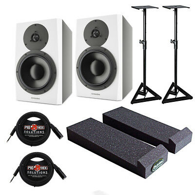 """Dynaudio LYD-8 8"""" Studio Monitor Studio Pak with Cables, Mopads, and Stands"""