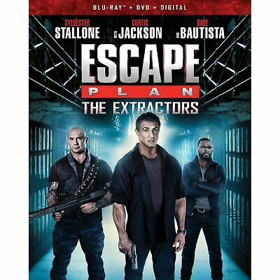 Escape Plan The Extractors Bluray Dvd Digital