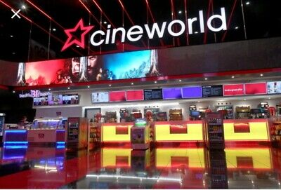 (4) Family 2xAdult & 2xChild Cineworld cinema ticket E-Codes can use separately