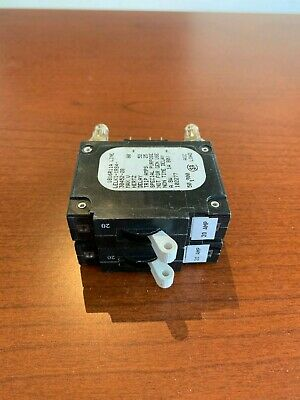 102277 20A Breaker Bullet Type Airpax LELK1-1RS4-30452-20 New