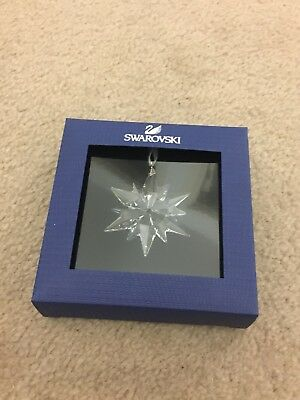 Swarovski Little Star Ornament Brand New