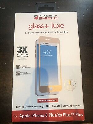 GENUINE Zagg iPhone XR Invisible Shield Glass Screen Protector
