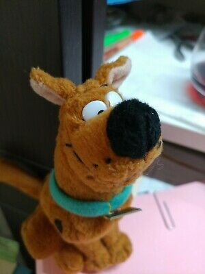 """rare Scooby Doo Chain key ring key chain 2002 vintage 6/""""  free ship Equity"""