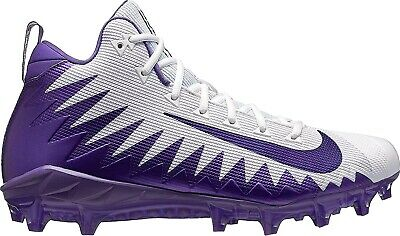 Nike Alpha Menace Pro Mid Football Cleats Size 10 NWT