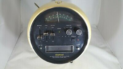 Vintage Weltron Model #2001 AM/FM, 8 Track Stereo Tested & Working     HE