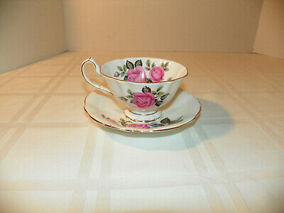 Vintage Bone China Tea Cup & Saucer - Princess Anne Made in England