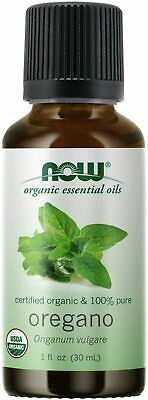Now Foods - Organic Essential Oils, 100% Pure Oregano Oil, 1 fl oz (30 ml)