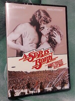 A Star Is Born 1976 (DVD 2005) Barbra Streisand Kris Kristofferson NEW SEALED!