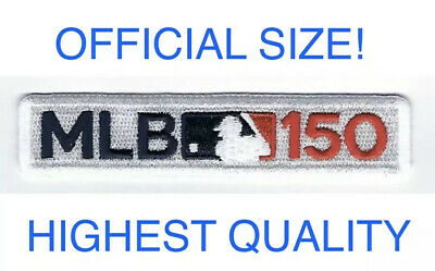 MLB Major League Baseball 150th Anniversary Patch 2019 Jersey Iron / Sew On