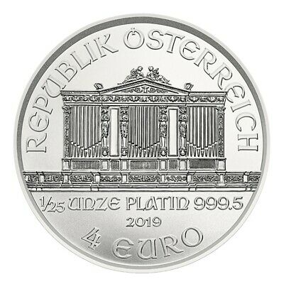 Bullion Corner Austria 2019 1/25 once Platinum – Philharmonic of Vienna