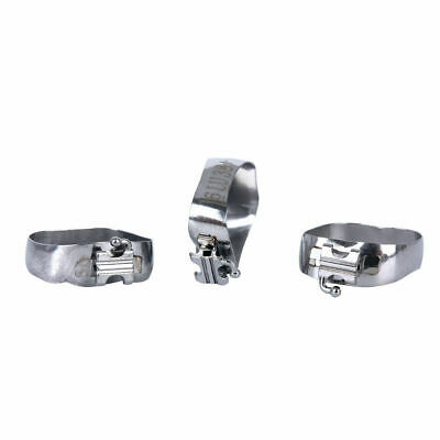 J&J Ortho™ Orthodontic #6 Convertible 1st Molar Band with Pre-welded Tube(4/pk)