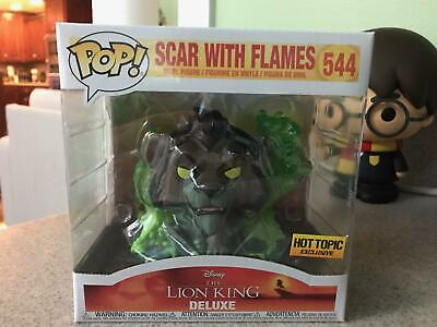 FUNKO POP Disney The Lion King Scar With Flames 544 Vinyl Figure Exclusive