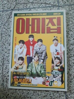 BTS Global Official Fanclub ARMY 5th term Membership Army Zip Book Only RARE FEW