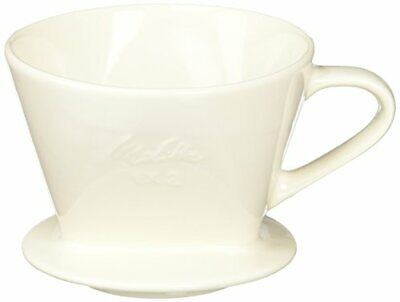 Melitta SF-T Ceramic Coffee Filter Dripper Coffee Brewer With Measuring Spoon