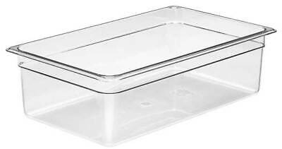 CAMBRO CA16CW135 Food Pan,Full Size, Clear,PK6