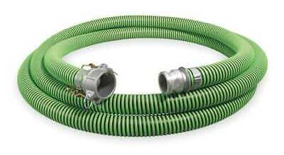 "CONTINENTAL CONTITECH 1ZMZ8 1-1/2"" ID x 25 ft Discharge & Suction Hose BK/GN"