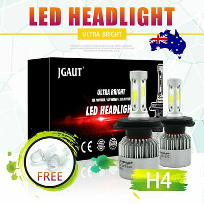 NEW CSP H4 LED Car Headlight Bulbs 6500K High/Low Beam for Holden Cruze AU