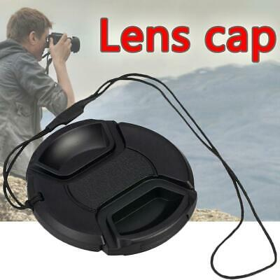 2Pc 49MM Front Lens With String Plastic Cap Cover Accessory For SLR Camera Sony