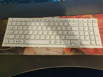 OEM Sony Vaio VGN-NW100 VGN-NW100J VGN-NW100Y Black US Keyboard With Frame NEW