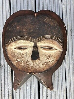 Old Carved Tribal African Mask
