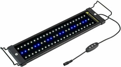 NICREW ClassicLED Aquarium Light, Fish Tank Light with Extendable 18-24 in